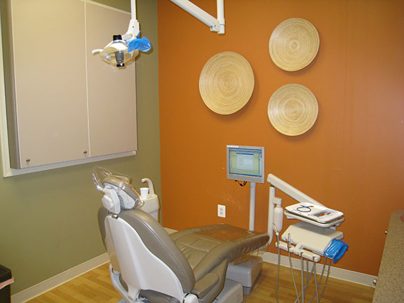 One of our three operatories where our friendly and skilled doctors and dental staff see our patients.